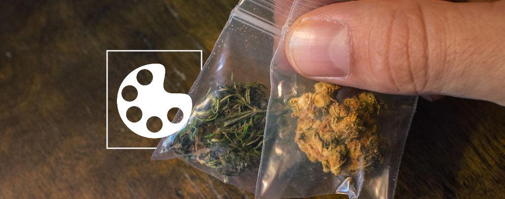 Kleuren Van Cannabis