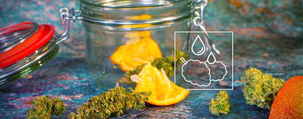 Droge Marihuana Redt