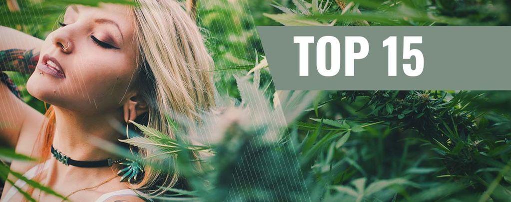 Top 10 Ganja Chicks Op Instagram