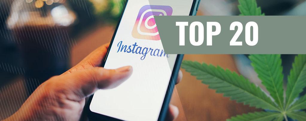 Cannabis Instagram-Accounts