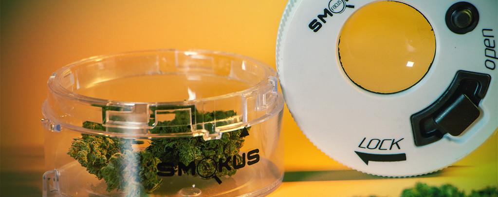 Bewaar Je Cannabis In Stijl Met Smokus Focus Stash Jars