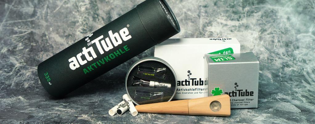 ActiTube: Actieve Koolstoffilters Voor Een Extra Zuivere Rook