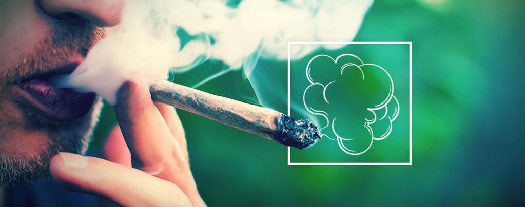Dampwolken Produceren En Cannabis