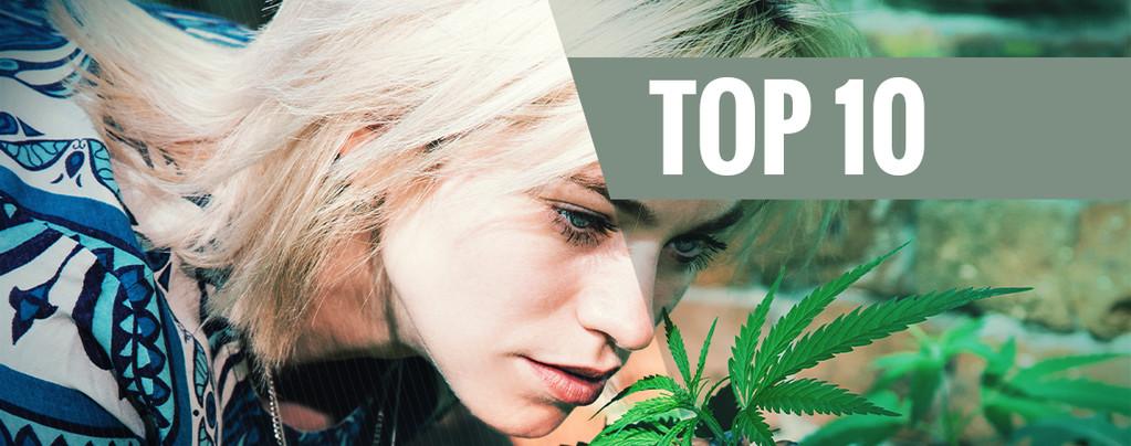 Top 10 cannabisvariëteiten