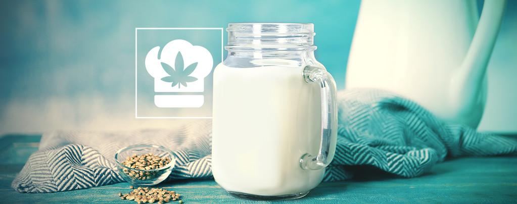 Hoe maak je cannabis melk