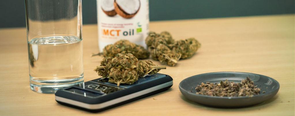Cannabis Kokosnoot Olie