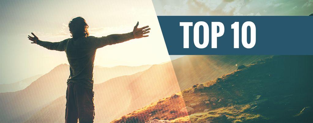 De 10 beste plaatsen om te trippen