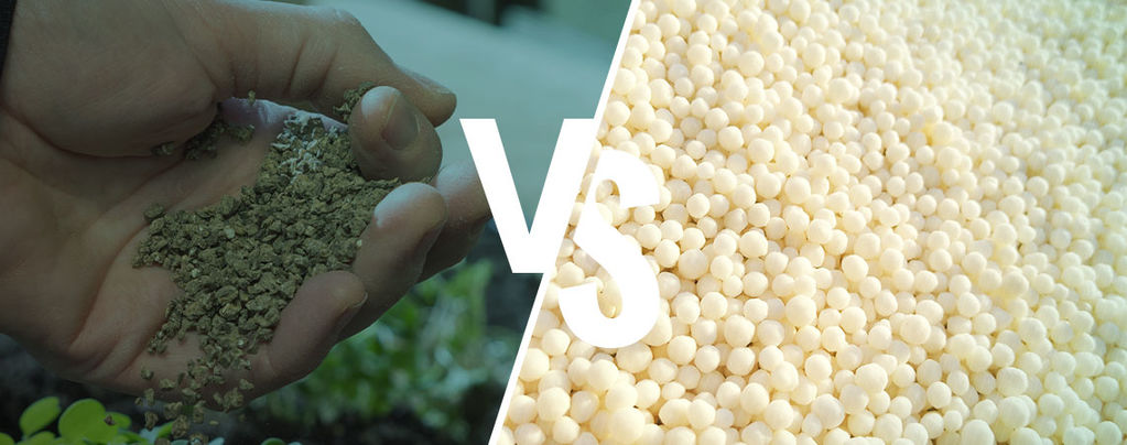 Het verschil: Synthetische vs. Natuurlijke meststof
