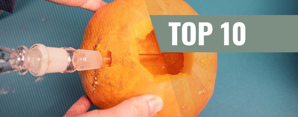 Top 10 creatieve geïmproviseerde bongs & pijpen
