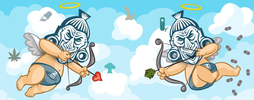 Valentijnsdag Cannabis