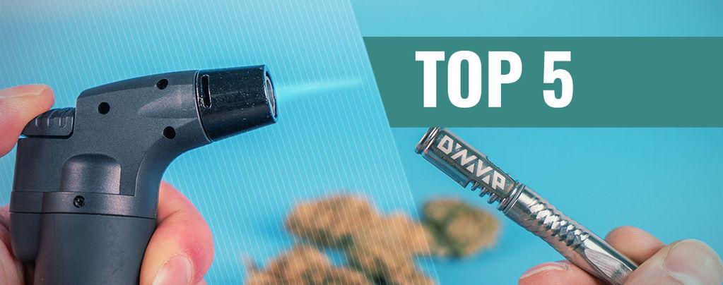 Top 5 Vlamverhitte Vaporizers