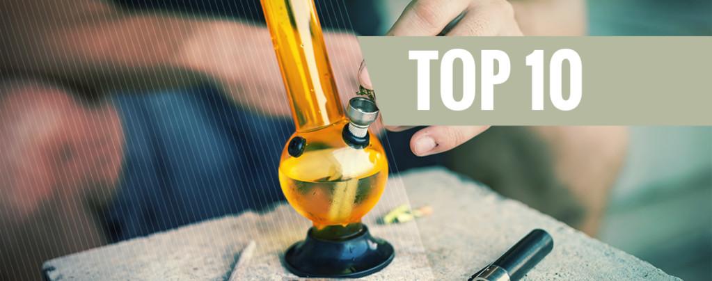 Top 5 alternatieven voor bong-water