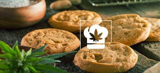 Recept: Pindakaas-Kokos Koekjes met Cannabis