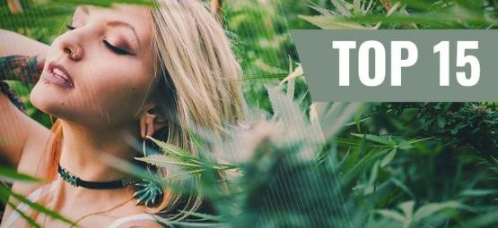 Top 10 Ganja Chicks Op Instagram
