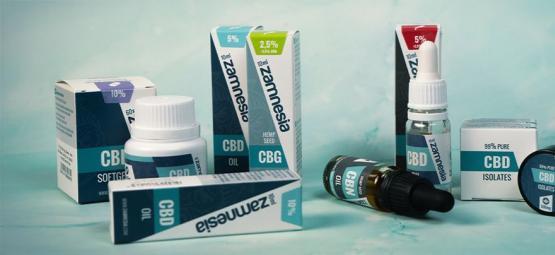 Top 5 Nieuwe Zamnesia CBD Producten Van 2019