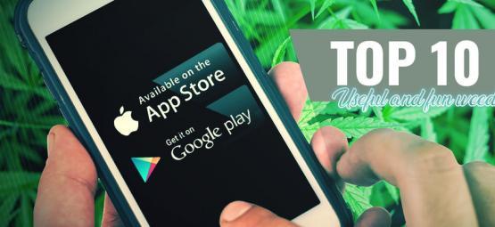 10 Handige En Geinige Cannabis Apps