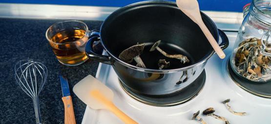 Koken Met Magic Mushrooms