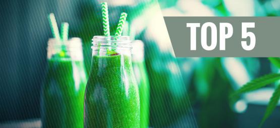 Top 5 Cannabis Drankjes Die Je Zelf Kunt Maken