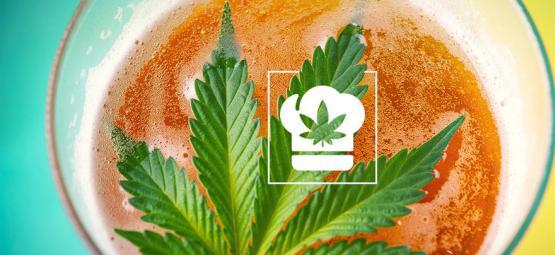 Het maken van cannabis bier
