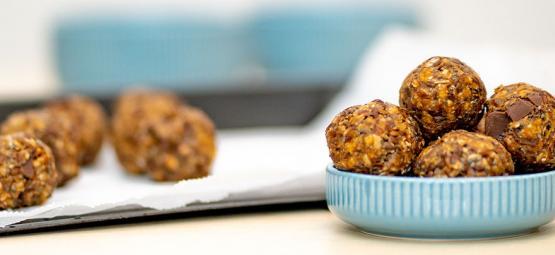Het maken van No-Bake Cannabis Energy Balls
