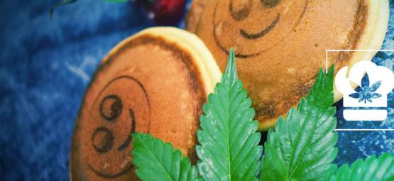 Hoe maak je pancakes met cannabis?