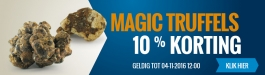 10% Korting Magic Truffels