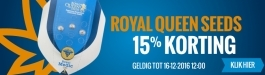 15% Korting Royal Queen Seeds