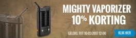 10% Korting MIGHTY