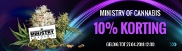 Aanbieding Ministry of Cannabis
