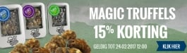 15% Korting Magic Truffels